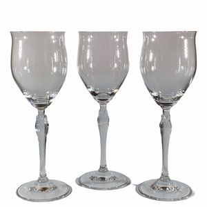 3 Tulip Wine tulip🌷Glasses